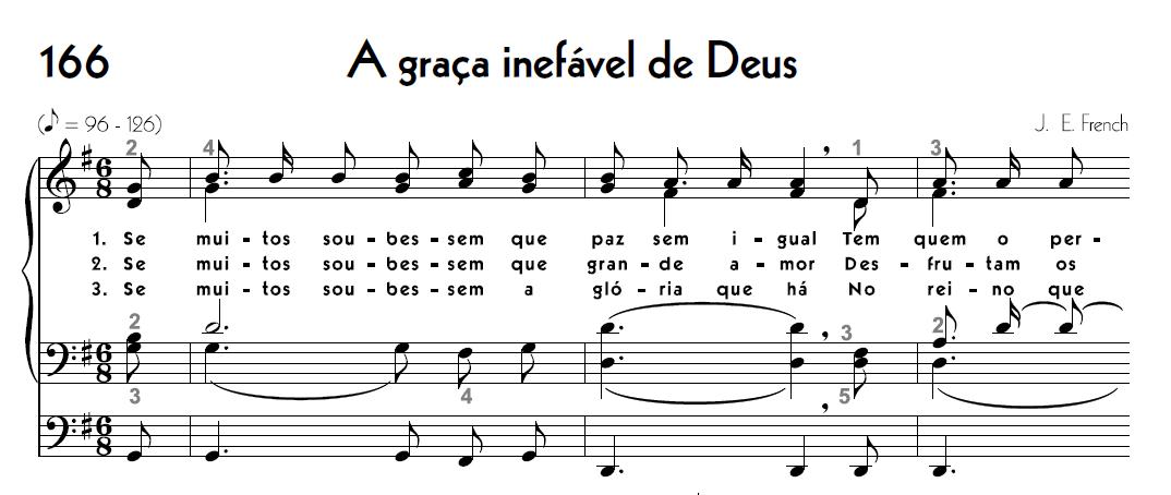 A Palavra cantada: o canto congregacional